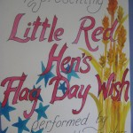 Little Red Hen's Flag Day Wish - May 2014